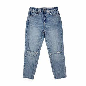 GARAGE High Rise Mom Jeans